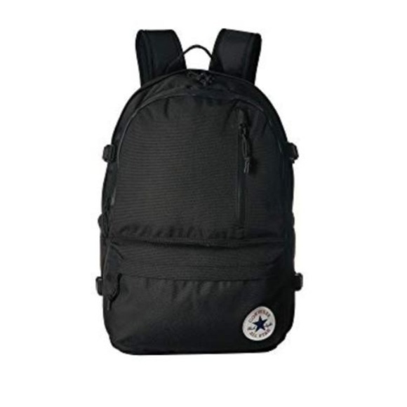 701a559b14fd Converse Straight Edge Black Backpack Chuck Taylor
